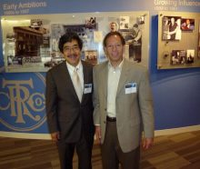 Steve Sashihara, Princeton Consultants CEO, and Frank Stein, Director of IBM's Analytics Solutions Cente